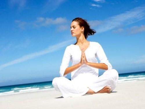 Tập một bài yoga