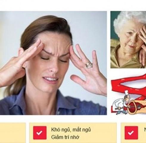 Dấu hiệu sớm của đột quỵ