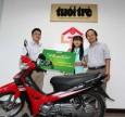 OTiV trao học bổng đặc biệt cho tân sinh viên nghèo Quảng Trị