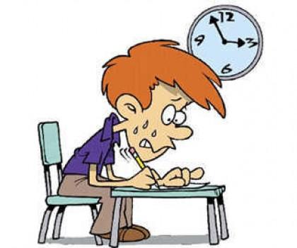 Trắng đêm học thi, dễ gục ngay 'vạch xuất phát'