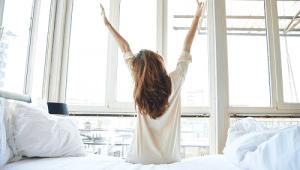 Làm sao có thể dậy sớm khi cơ thể rất mệt và...lười?