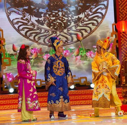 Táo quân 2014: 'Ngọc Hoàng' Quốc Khánh một mình đóng cả hai vai