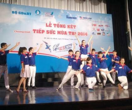Tổng kết chương trình 'Tiếp sức mùa thi 2014' tại TP.HCM